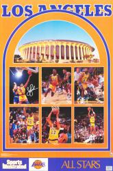 Los Angeles Lakers poster: Sports Illustrated 1989 All-Stars (23x35)