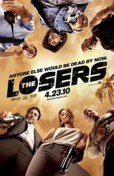The Losers movie poster [Zoe Saldana/Chris Evans/Jeffrey Dean Morgan]