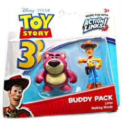 Toy Story 3: Lotso & Walking Woody figure Buddy Pack (Mattel/2009)