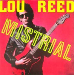 Lou Reed poster: Mistrial vintage LP/Album flat