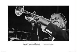 Louis Armstrong poster: Ted Williams Photography (36'' X 24'')