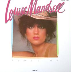 Louise Mandrell poster: Close Up vintage LP/album flat