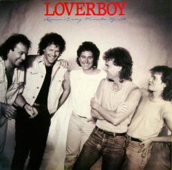 Loverboy poster: Lovin' Every Minute of It vintage LP/Album flat