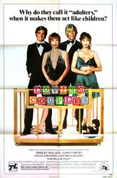 Loving Couples movie poster [MacLaine, Sarandon, James Coburn] 27x41