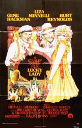 Lucky Lady movie poster [Gene Hackman, Liza Minnelli] original 27x41