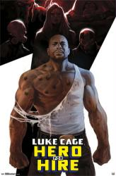 Luke Cage poster: Hero For Hire (Marvel Comics superhero) 22x34