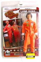 The Dukes of Hazzard: Luke Duke retro action figure in racing jumpsuit