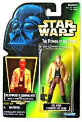 Star Wars [POTF] Luke Skywalker Ceremonial Outfit figure (Kenner/1996)