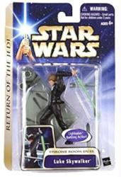 Star Wars Return of the Jedi: Throne Room Duel Luke Skywalker figure