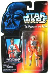 Star Wars POTF: Luke Skywalker X-Wing short saber figure (Kenner/1995)