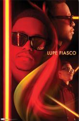 Lupe Fiasco poster: Neon (22 1/2'' X 34'') New