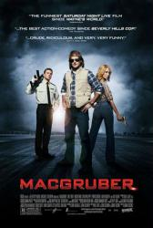 MacGruber movie poster [Will Forte, Kristen Wiig & Ryan Phillippe] VG