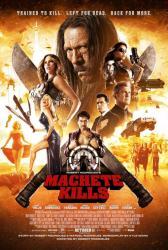 Machete Kills movie poster [Danny Trejo, Mel Gibson, Vergara] 27x40
