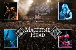 Machine Head poster: Heavy Metal group (36x24) New