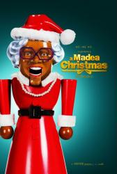 A Madea Christmas movie poster [a Tyler Perry film] 27 X 40 original