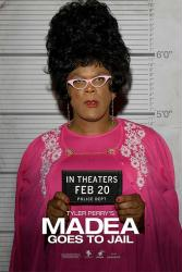 Madea Goes to Jail movie poster [Tyler Perry] 2009 advance