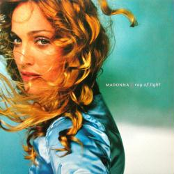 Madonna poster: Ray of Light vintage LP/Album flat (1998)