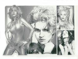 Madonna poster/print (22 1/2'' X 17 1/2'') Mike Duran art