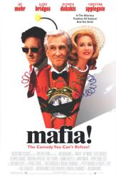 Mafia! movie poster [Jay Mohr, Lloyd Bridges & Christina Applegate]