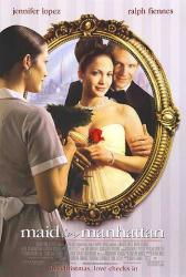 Maid In Manhattan movie poster [Jennifer Lopez, Ralph Fiennes] 27x40