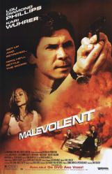 Malevolent movie poster [Lou Diamond Phillips, Kari Wuhrer] 26x40
