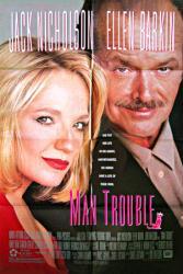 Man Trouble movie poster [Jack Nicholson, Ellen Barkin] 27x40 original