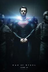 Man of Steel movie poster [Henry Cavill as Superman] original 27 x 40