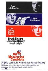 The Manchurian Candidate movie poster [Frank Sinatra, Laurence Harvey]