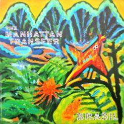 Manhattan Transfer poster: Brasil vintage LP/Album flat