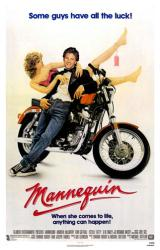 Mannequin movie poster [Andrew McCarthy/Kim Cattrall] original 27 X 41
