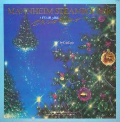 Mannheim Steamroller poster: A Fresh Aire Christmas vintage album flat
