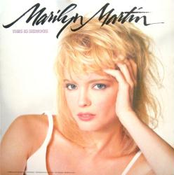 Marilyn Martin poster: This Is Serious vintage LP/album flat (1988)