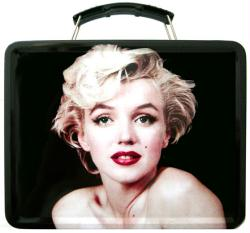 Marilyn Monroe collectible Lunch Box Tin Tote (Vandor/2016)