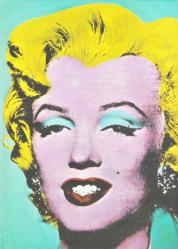 Marilyn Monroe blank hardbound journal (Tomo/2013) Andy Warhol art