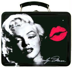 Marilyn Monroe: Lipstick collectible Lunch Box Tin Tote