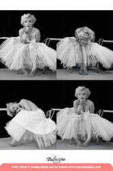 Marilyn Monroe poster: Ballerina x 4 (24x36) New