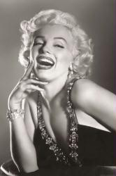 Marilyn Monroe poster: Laughing (24'' X 36'') B&W