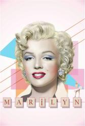 Marilyn Monroe poster: Face (24x36)