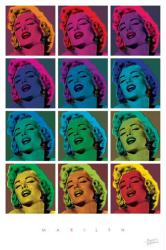 Marilyn Monroe poster: Marilyn Pop Art (24x36)