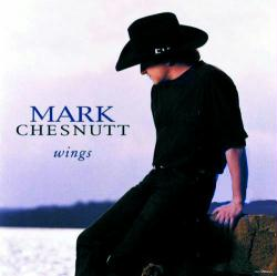 Mark Chesnutt poster: Wings (24x24 promo poster) 1995