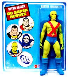 Retro Action DC Super Heroes: Martian Manhunter action figure (Mattel)