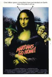 Martians Go Home movie poster (1989) original 27 X 41 one-sheet
