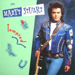 Marty Stuart poster: Tempted vintage LP/Album flat (1991)