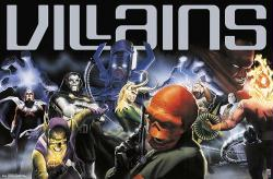 Marvel Comics poster: 80th Anniversary Villains (34x22)