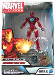 Marvel Universe Comic Series Extreme Iron Man figure (Hasbro) Avengers
