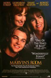 Marvin's Room poster [Meryl Streep, Leonardo DiCaprio, Diane Keaton]