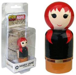 Marvel: Mary Jane Pin Mate #34 wooden figure (Bif Bang Pow)