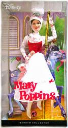 "Mary Poppins: 12"" Mary Poppins Barbie Pink Label doll (Mattel) Disney"