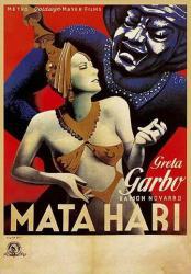 Mata Hari movie poster (1931) [Greta Garbo] 24 X 36