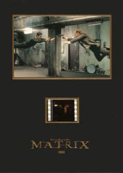 The Matrix 5 1/4'' X 7 1/4'' Senitype film cell [Keanu Reeves]